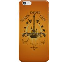 Rock Never Dies - For Music Fans 2 iPhone Case/Skin