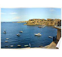Birgu (Vittoriosa), Malta Poster
