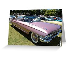 Cadillac 1961 Coup deville Greeting Card