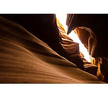 Unique Rock formation - Antelope canyon Photographic Print