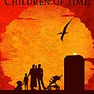 The Children of Time - Greeting Card by ifourdezign