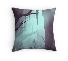 The swamp Throw Pillow