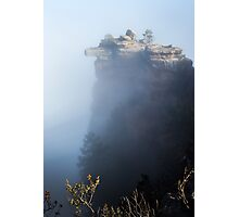 Foggy Grand Canyon national Park -  arizona Photographic Print