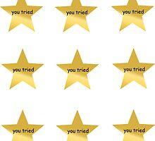 You Tried Stars by gasm
