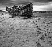 GHOST SHIP FOOTPRINTS by rawtalent79