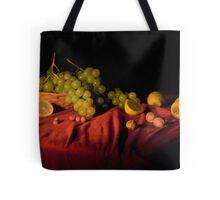 Grape,lemons and nuts Tote Bag