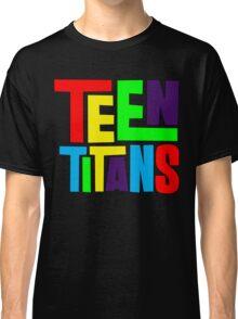 Teen Titans Multicolor Classic T-Shirt