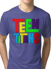 Teen Titans Multicolor Tri-blend T-Shirt