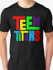 Teen Titans Multicolor T-Shirt