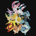 Eeveelutions by xJacky2312x