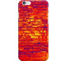 red brick texture iPhone Case/Skin