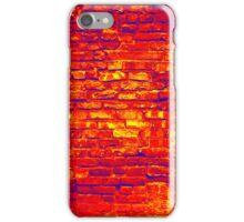 red brick texture iPhone Case/Skin