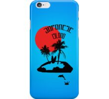 Vacation on an Japanese Island iPhone Case/Skin
