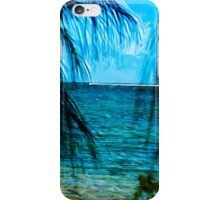 Hanalei Bay Kauai Abstract Impressionism iPhone Case/Skin