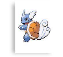 Pokemon - Wartortle Sprite  Canvas Print