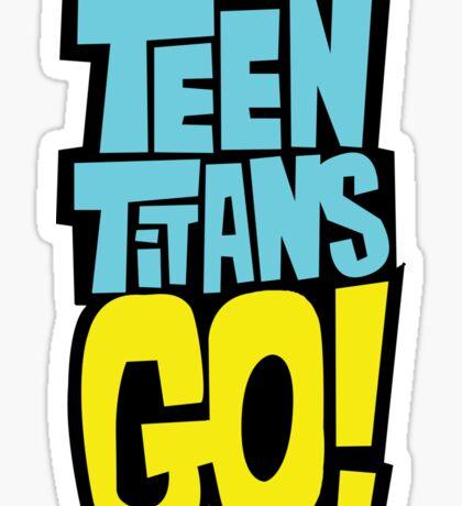 Teen Titans Go Sticker