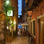 Evening Stroll in Rovinj by Andrea  Muzzini