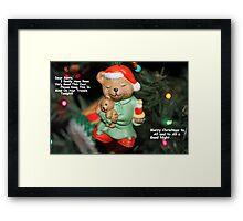 Dear Santa---- Framed Print