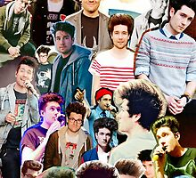 Dan Smith Collage  by davelizewski