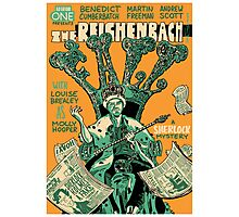 Vintage Poster - The Reichenbach Fall Photographic Print