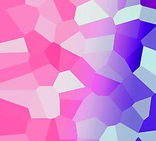 Glowing Gradient - Pink and Purple by lolohannah