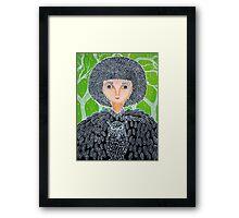 Mrs. Owl Framed Print