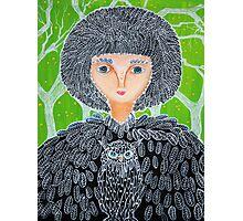 Mrs. Owl Photographic Print