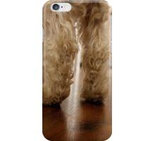 dog legs iPhone Case/Skin
