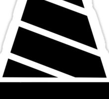 Tengen Toppa Gurren Lagann Core Drill - Black Sticker