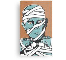 Mummy Metal Print