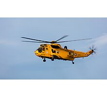 RAF Search and Rescue Helicopter Photographic Print