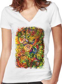 The Traveler Women's Fitted V-Neck T-Shirt