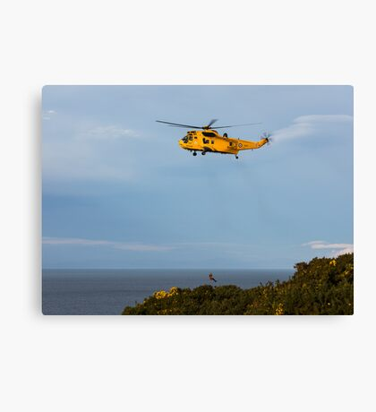 RAF Search and Rescue Helicopter V3 Canvas Print