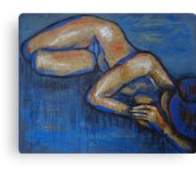 Nostalgic - Female Nude Canvas Print
