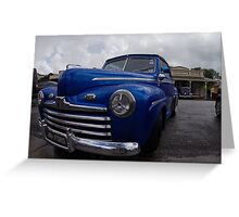 1946 FORD ROADSTER Greeting Card