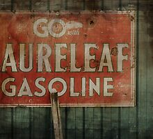 The Old Gas Sign by trueblvr