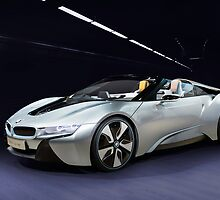 2014 Bmw I8 concept car by Jerome Obille