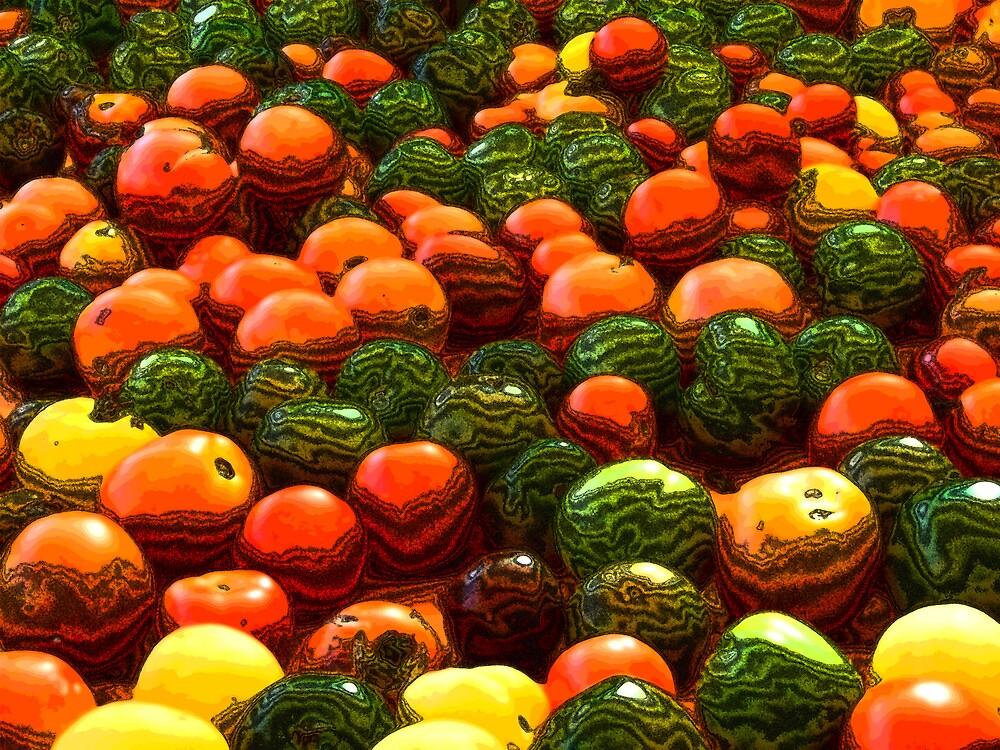 Tomatoes by Benedikt Amrhein