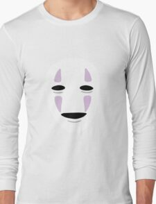No Face - Spirited Away Long Sleeve T-Shirt