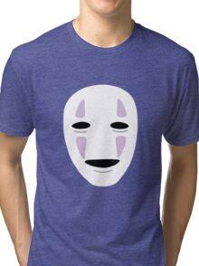 No Face - Spirited Away Tri-blend T-Shirt