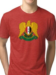 Coat of Arms of Syria  Tri-blend T-Shirt