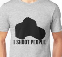 I shoot people photographer Unisex T-Shirt