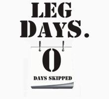Zero Leg Days Skipped by dno123