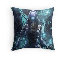 Mass Effect - Tali'zorah Vas Normandy Throw Pillow