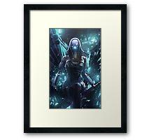 Mass Effect - Tali'zorah Vas Normandy Framed Print