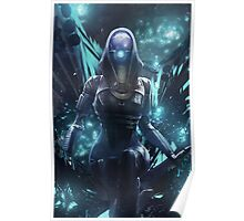 Mass Effect - Tali Zorah Vas Normandy Poster