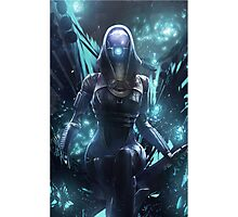 Mass Effect - Tali'zorah Vas Normandy Photographic Print
