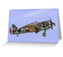 Curtiss Hawk H75C-1 No 82 G-CCVH Greeting Card