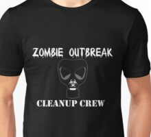 Zombie Cleanup Crew Unisex T-Shirt
