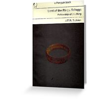 Lord of the Rings: The Fellowship of the Ring Greeting Card